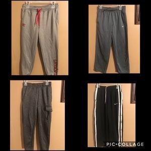 4 pair lot of boys joggers